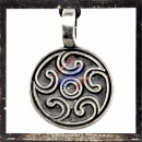 Pendant with Celtic tribal ornaments