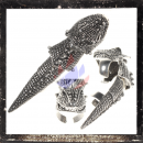 Armor Ring / Joint Ring - Celtic dragon head and body