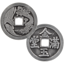 Chinese lucky coin in the form of a pendant without eyelet (VIII)