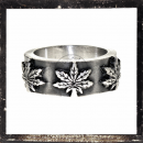 Filigree *HEMP-LEAVE*-Ring (I)