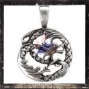 Filigree dragon amulet
