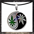 Filigree YIN & YANG - HEMP Amulet - Peace