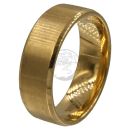 Friendship-, Partner Ring, GOLD-colour -Stainless Steel...