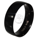 Friendship-, Partner Ring, BLACK 7,9 -Stainless Steel 316L-