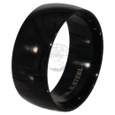 Friendship-, Partner Ring, BLACK 9,9 -Stainless Steel 316L-
