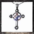 Gothic cross with cross