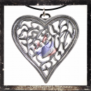 Large filigree Gothic Heart
