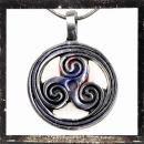 Celtic Triskelion in sunshine circuit