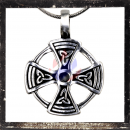 Celtic TRIQUETRA-CROSS in sun circle