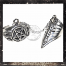 Chain-Ring with pentagram and dragon claw