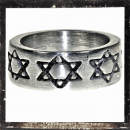 Massive Ring with *HEXAGRAM* (I)
