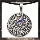 Mystical Celtic pendant with runes (I)