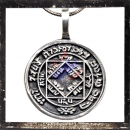 Mystical Celtic pendant with runes (II)
