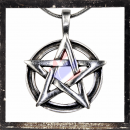 Pentacle braided on Celtic Ring