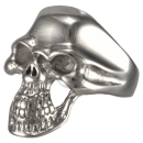 Skull (II) Statement Biker Skullhead Ring Stainless Steel...