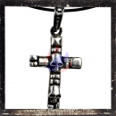 Rustic Gothic Cross with Skull