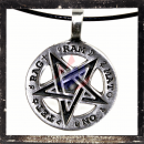 Inverted Pentacle with RAG-RAM-MAT-ON-TET mantra (I)