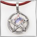 Positive pentacle in sun circle