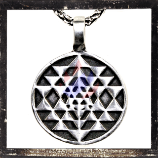 Pendant with Mystic Ornaments (X)