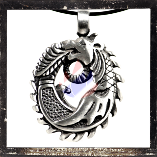 Dragon amulet with ornaments