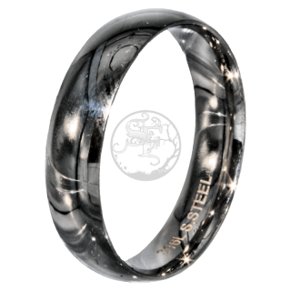Friendship-, Partner Ring, POLISHED 5,9 -Stainless Steel 316L