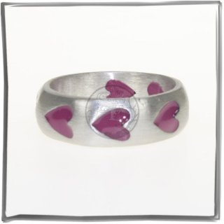Massiver Ring mit *COLOR-LINE* (II)