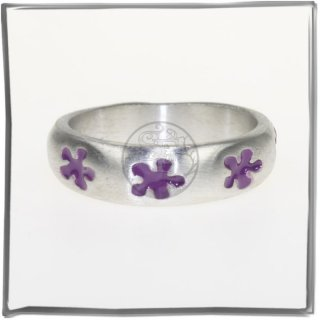 Massiver Ring mit *COLOR-LINE* (III)