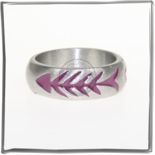 Massiver Ring mit *COLOR-LINE* (IV)