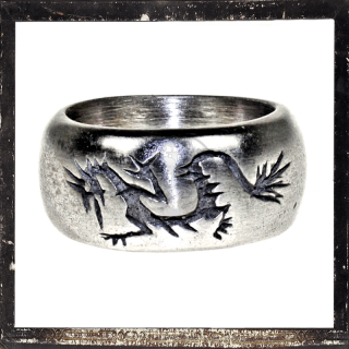Massive Ring with stylized *DRAGON* (II)
