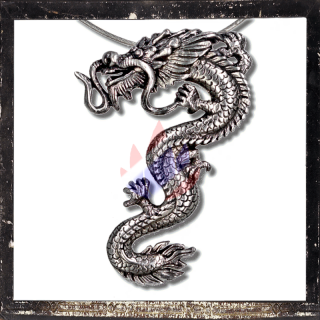 Massive, filigree Chinese Dragon (8 cm long & 30 g heavy)